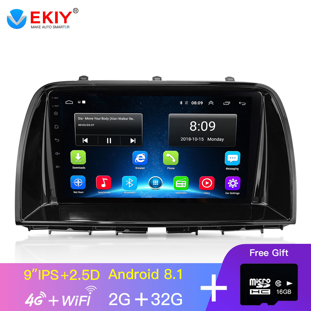 EKIY 9'' IPS Android Car Multimedia Auto Radio For <font><b>Mazda</b></font> <font><b>CX5</b></font> CX-5 2014 2015 2016 GPS Navigator <font><b>Navigation</b></font> Video Stereo Player image