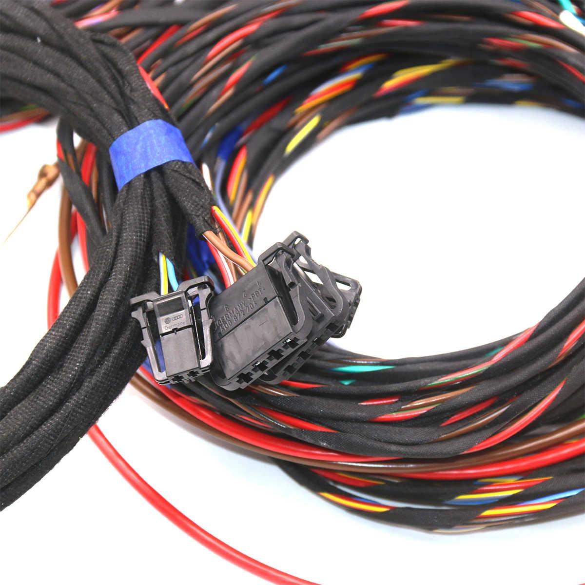 プラグ & プレイ音響 install ワイヤーケーブルハーネス使用 Vw ゴルフ 7 MK7 ティグアン MK2 Dynaudio サウンドシステム