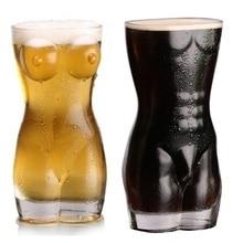 700 мл Хрустальная Дамская и мужская форма тела стеклянная чашка пивная кружка домашние вечерние DDC-19