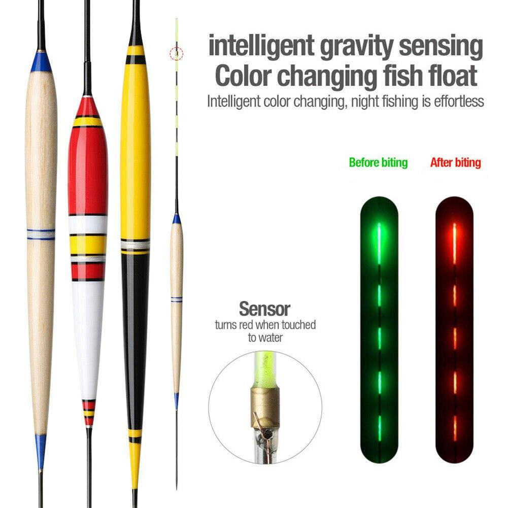 Smart Fishing Float LED Light Automatic Night Luminous Electronic Fishing Floats Winter Fishing Accessories pesca accesorios mar