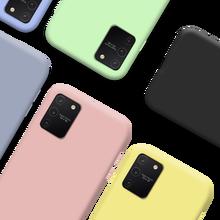 Funda de silicona oficial para samsung a41, carcasa de lujo fina y suave para Galaxy A415 de 6,1 pulgadas, Coque samsung a 31