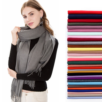 2020 summer women hijab scarf thin shawls and wraps lady solid female stoles long cashmere pashmina foulard head scarves - discount item  45% OFF Muslim Fashion