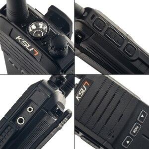 Image 5 - 2PCS Handheld Walkie Talkie 8W High Power UHF Handheld Two Way Ham Radio Communicator HF Transceiver Amateur Handy
