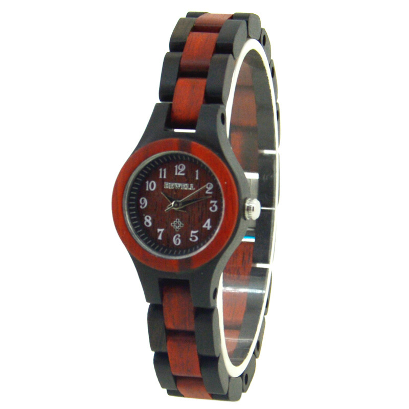 2020 Rushed Bewell Female Fashion Brand Chain Of Small And Exquisite Wooden Watch Manufacturers Selling Hot Quartz