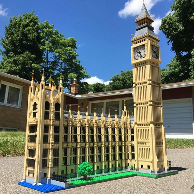 IN STOCK 30003 4164pcs Creators Series Big Ben best-known clock tower Building Blocks Bricks Kids Toys Christmas gift 10253