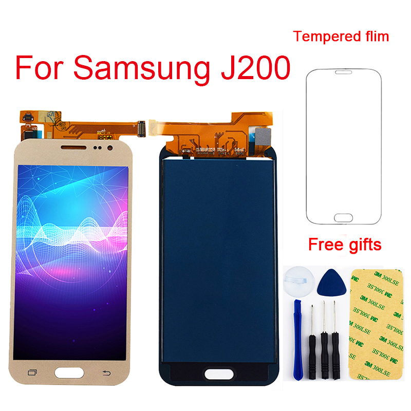 J2 2015 <font><b>LCD</b></font> Für Samsung Galaxy J2 2015 <font><b>LCD</b></font> Touch J200 <font><b>J200F</b></font> <font><b>LCD</b></font> Panel J200Y J200H <font><b>LCD</b></font> Display Touch Screen digitizer Montage image