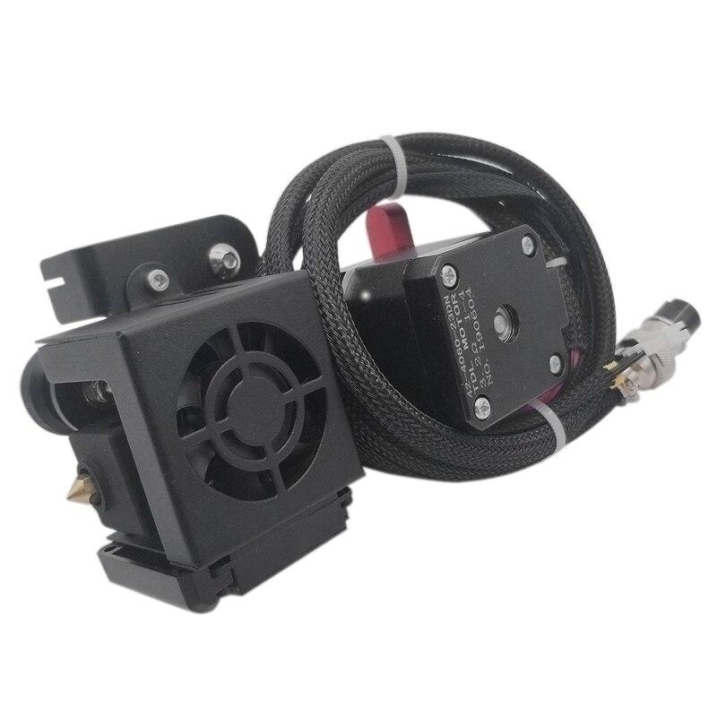 CR10 Upgrade Short Range Drive Feed Belt Complete Hot End Red Extruder Kit 3D Printer Accessories(24V)