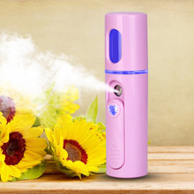 USB Nano Mist Sprayer Facial Body Nebulizer Steamer Hydrating Moisturizing Skin Care Mini Face Spray Beauty Instruments dropship usb nano mist sprayer facial body nebulizer steamer moisturizing skin care mini face spray beauty instruments device