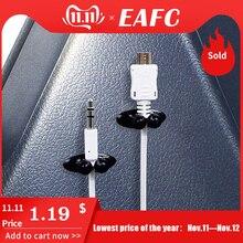 8 Stuks Auto Draad Kabel Houder Multifunctionele Tie Clip Fixer Organizer Autolader Lijn Sluiting Hoge Kwaliteit Hoofdtelefoon Kabel Clip