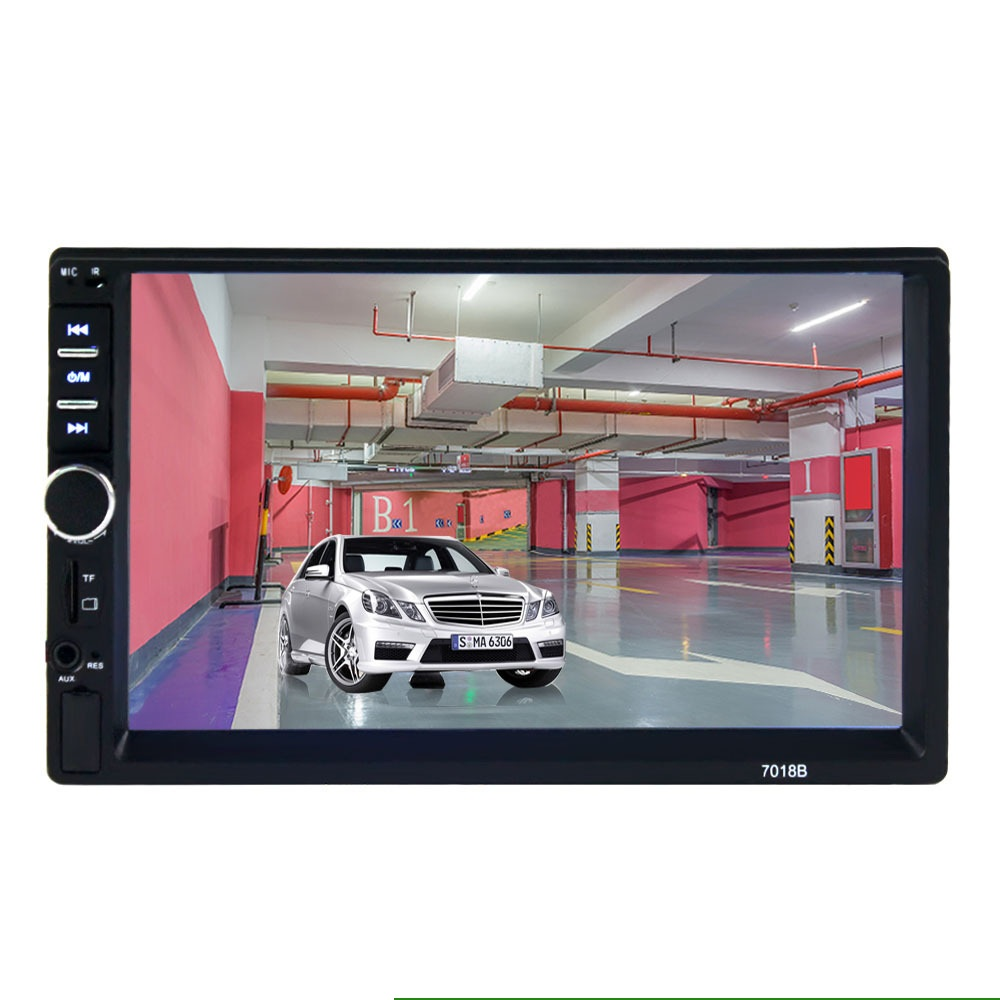 7 inch Wince HD car mp4 mp5 player <font><b>GPS</b></font> navigation locator reversing priority Bluetooth hands-free image