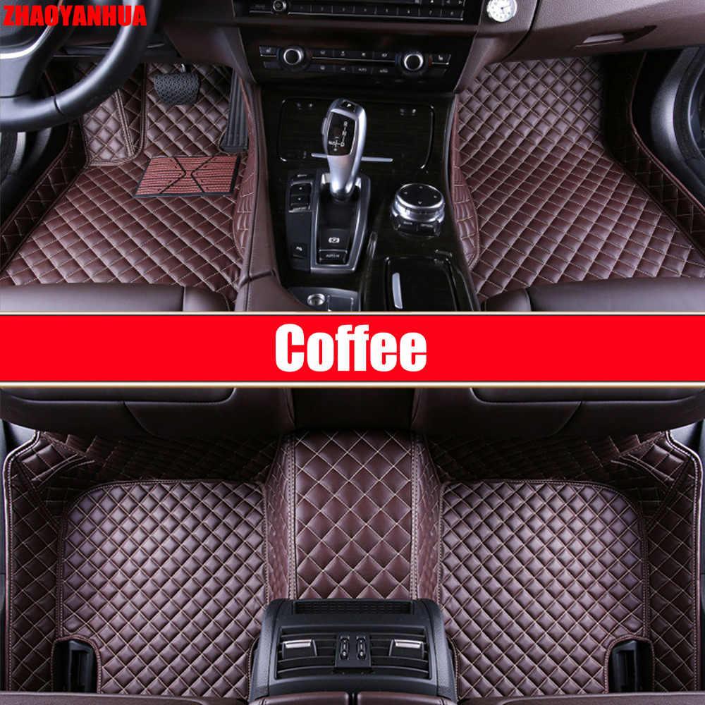 ZHAOYANHUA รถสำหรับ Chevrolet Captiva Epica 6D รถ-จัดแต่งทรงผม Heavy Duty พรมอุปกรณ์เสริม Liners (2006 -)
