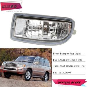 ZUK Front Bumper Fog Light Driving Lamp For TOYOTA LAND CRUISER 100 4700 1998-2008 UZJ100 FZJ100 HDJ100 81220-60030 81210-60111