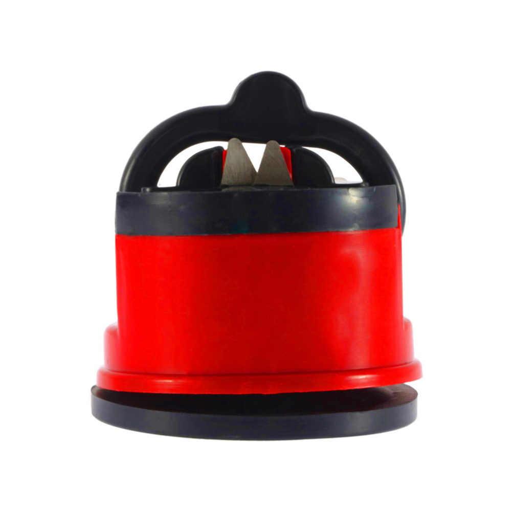 Pengasah Pisau Gunting Penggiling Non-slip Suction Koki Dapur Alat Mengasah Inovatif Pengasah Pisau Sempurna Edge