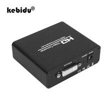 Kebidu HD 1080P HDMI vers DVI séparateur Audio HDMI vers DVI + SPDIF convertisseur de séparateur Audio stéréo avec HDCP enlevant le séparateur vidéo