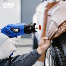 2000W Heat Gun 220V Electric Heating Gun Hot Air Industrial Tool Dual Temperature Building Temperature 4 Nozzle by PROSTORMER