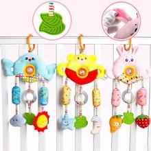 0-12 Maanden Cartoon Baby Speelgoed Bed Wandelwagen Baby Mobiele Opknoping Rammelaars Pasgeboren Knuffel Baby Speelgoed Voor Baby jongens Meisjes Geschenken