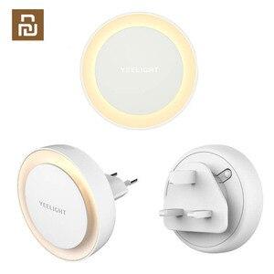 Image 1 - Yeelight lampka nocna z żarówką LED dla dzieci z czujnikiem światłoczułym inteligentna ściana lampa do korytarza sypialnia główna