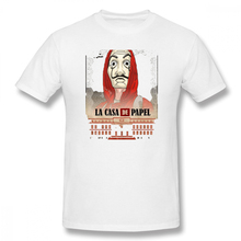 POSTERS 2018 - ON SALE La Casa De Papel Casual O-Neck Mens Basic Short Sleeve T-Shirt 100% Cotton Tee Shirt Printed