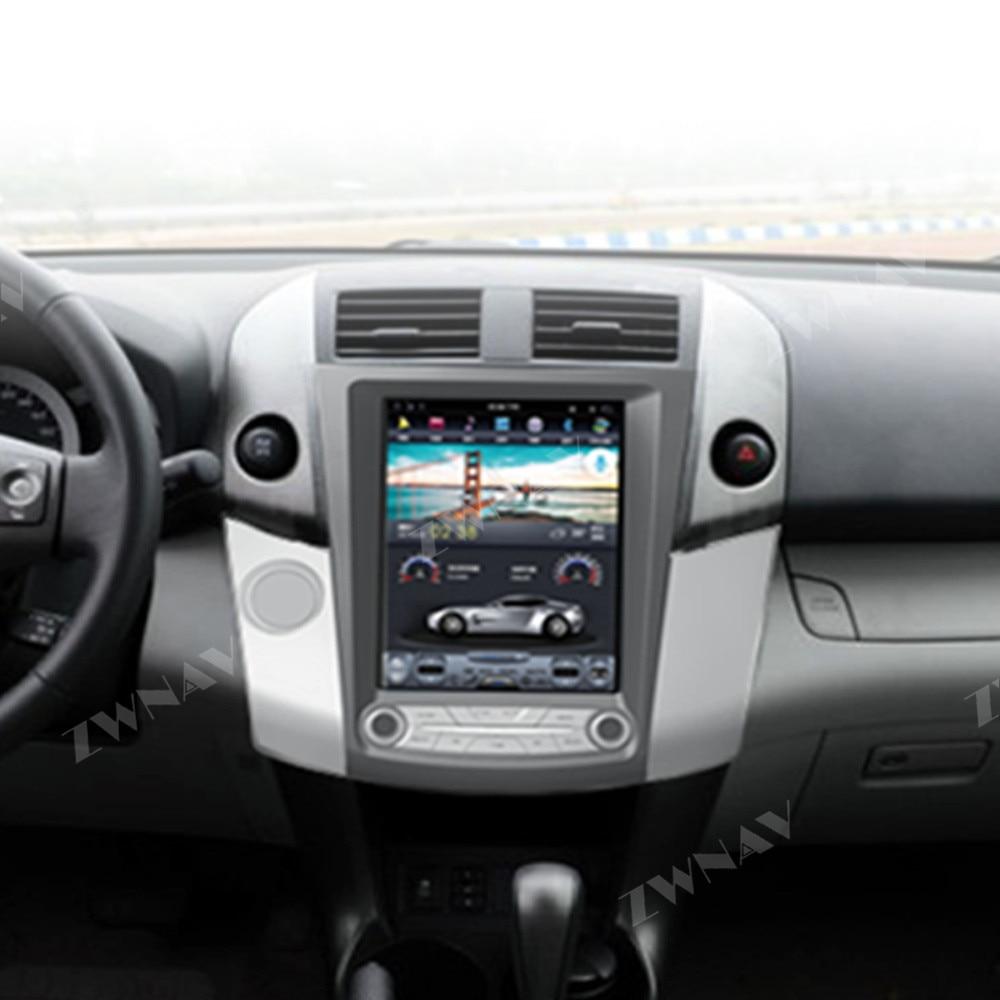 Tesla Style 4GB ROM Android 8 1 For Toyota RAV4 2006 2012 Car GPS navigation head