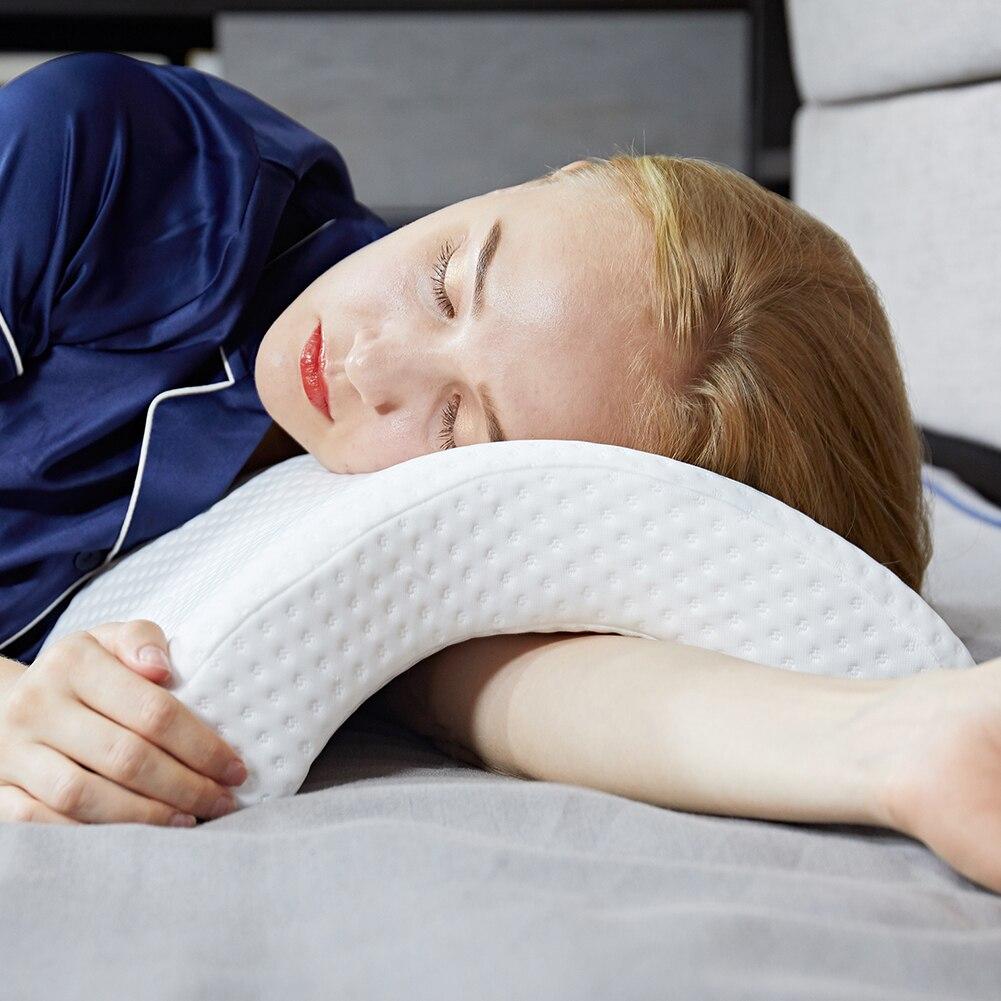 Speicher Schaum Bettwäsche Kissen Neck Schutz Langsam Rebound Multifunktions Speicher anti-druck Hand Kissen Gesundheit Neck Paar Kissen