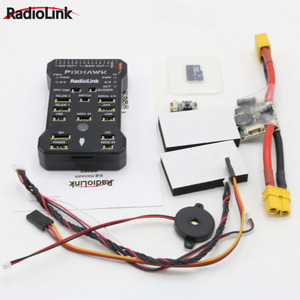 Image 3 - Radiolink Pixhawk PIX APM Flight Controller with M8N GPS Buzzer 4G SD Card Telemetry Module For RC Drone