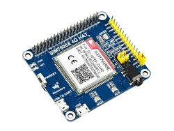 Waveshare SIM7600E LTE Cat-1 kapelusz dla Raspberry Pi  3G / 2G/GNSS  dla azji południowo-wschodniej  azji zachodniej  europy  afryki