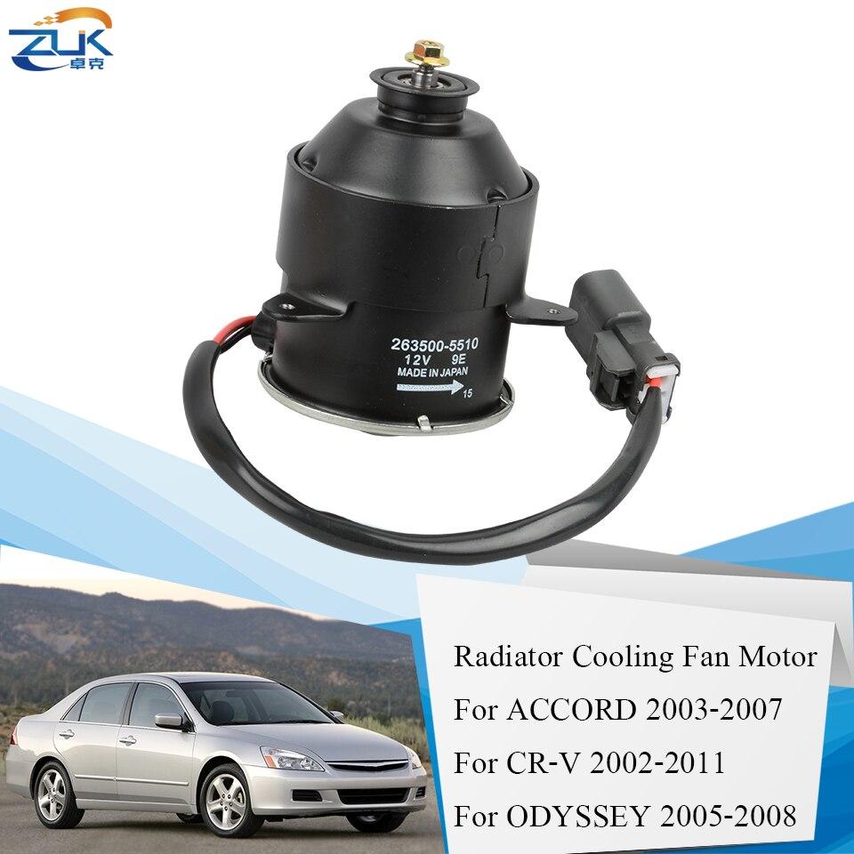 Genuine Honda 38616-RAA-A02 Cooling Fan Motor
