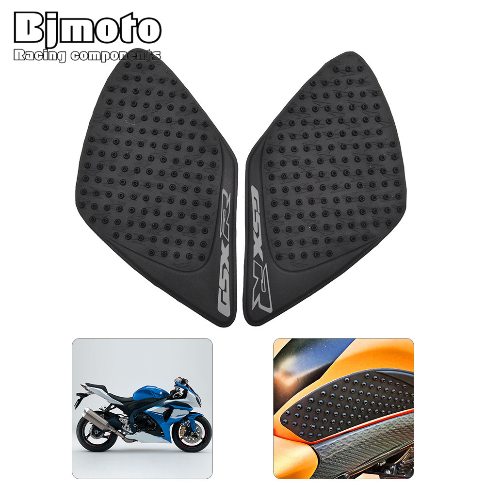 1pcs Rubber Motorcycle Sticker Gas Fuel Oil Tank Pad Tankpad Protector Sticker For <font><b>Suzuki</b></font> <font><b>GSXR1000</b></font> GSXR 1000 <font><b>K7</b></font> 2007-2008 image