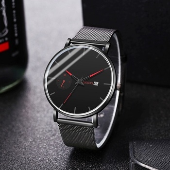 GENEVA Luxury Watch Men Calendar Black Casual Bracelet Male Clock Quartz Men Sport Wrist Watch Relogio Masculino Reloj Hombre yazole luminous wrist watch men watch sport watches luxury men s watch clock saat erkek kol saati relogio masculino reloj hombre