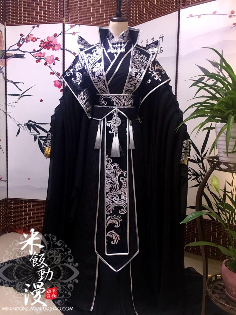 Anime MO DAO ZU SHI Song Lan Cosplay He Xuan Chang Geng Costume Sha Po Lang Tian Guan Ci Fu Character Hanfu Costume Full Set