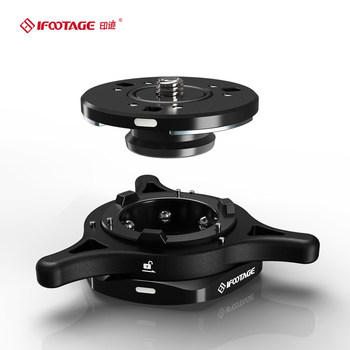 ifootage SEASTARS Q1 QUICK RELEASE plate Base Plate Tripod Screw Mount for DSLR Camera Camcorder Manfrotto цена 2017