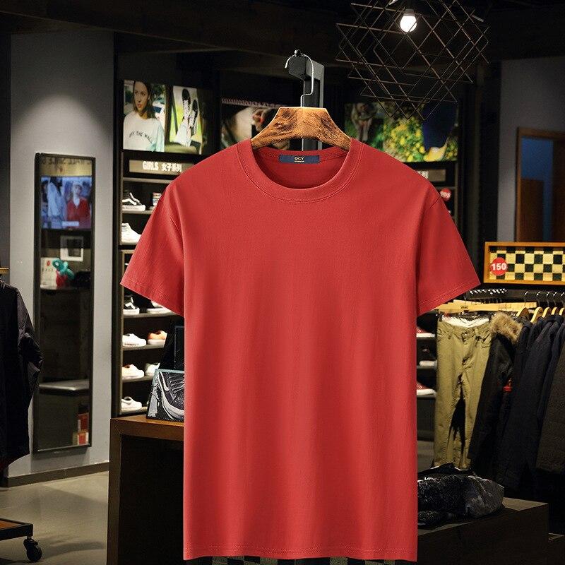 New 2020 Running Short Sleeve T-shirt Men Clothing Fitness T-shirt Cotton Bodybuilding Shirts Tops Gyms T-shirts