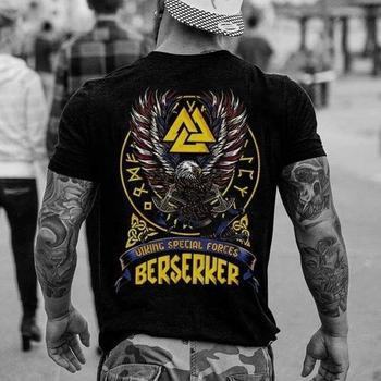 T-Shirt Wikinger Odin Thor Runen Wotan Vikings Germanen Heiden T Shirt 1