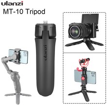 Ulanzi MT 10 Mini trípode para DJI Osmo Mobile 2 3 cardán Base iPhone Andriod Smartphone DSLR cámaras, Gimbal Accesorios