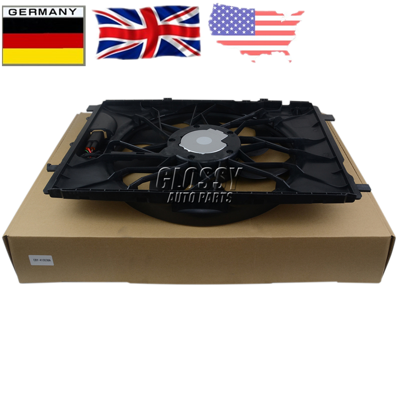 AP02 Radiator Cooling Fan Assembly For Mercedes W204 S204 X204 W212 C207 S212 A207 C218 R172 C204 W246 W176 X218 C117 X156 X117