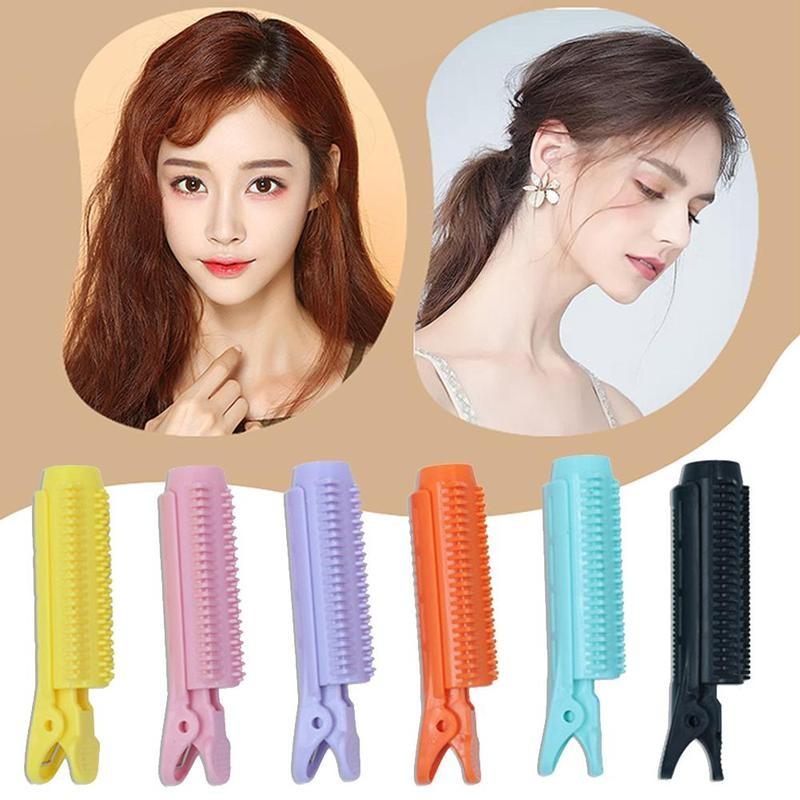 2pcs Plastic DIY Pad Tool Tuck Sticker Styling Hair Hairpin Fluffy Head Wear
