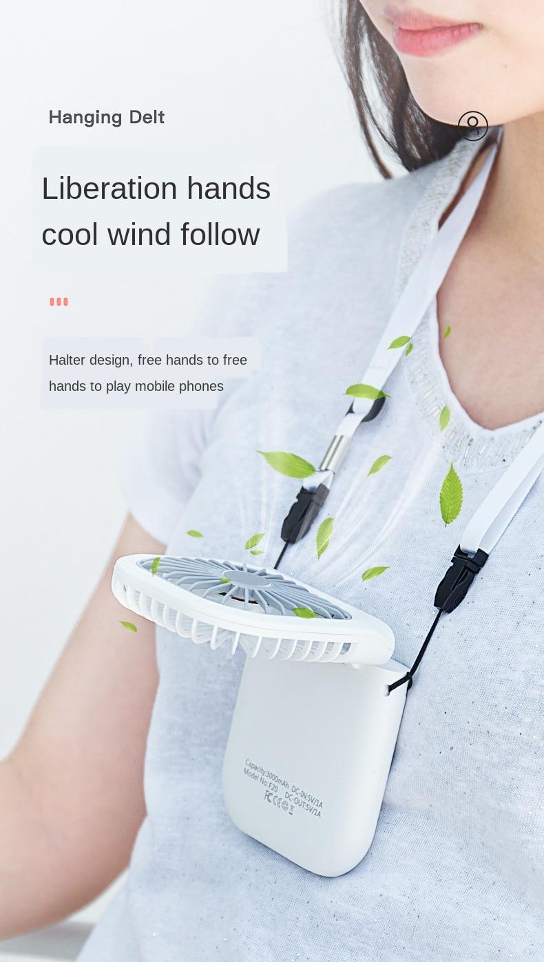2021 Latest Multifunctional mini portable fans