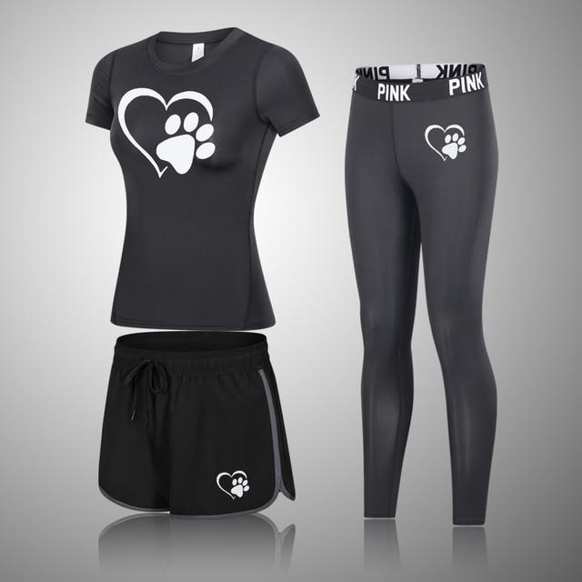 Fashion Yoga Set Women Sportswear For Women Gym Clothing Sport Suit Gym Set Sport Clothing For Women Yoga Outfit Gym Jump Suit