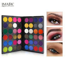 IMAGIC Pallete Professional 48 Colors Eyeshadow Matte Shimmer Glitter Cosmetics Waterproof Smoky Eye Shadow Makeup Powder