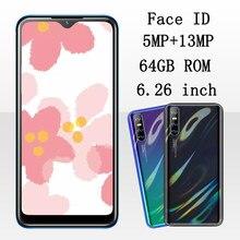 9A MTK Original Gesicht ID Anerkennung Entsperrt Handy Smartphone 6.26 ''Wasser Tropfen Bildschirm Android 4G RAM 64G ROM Handy