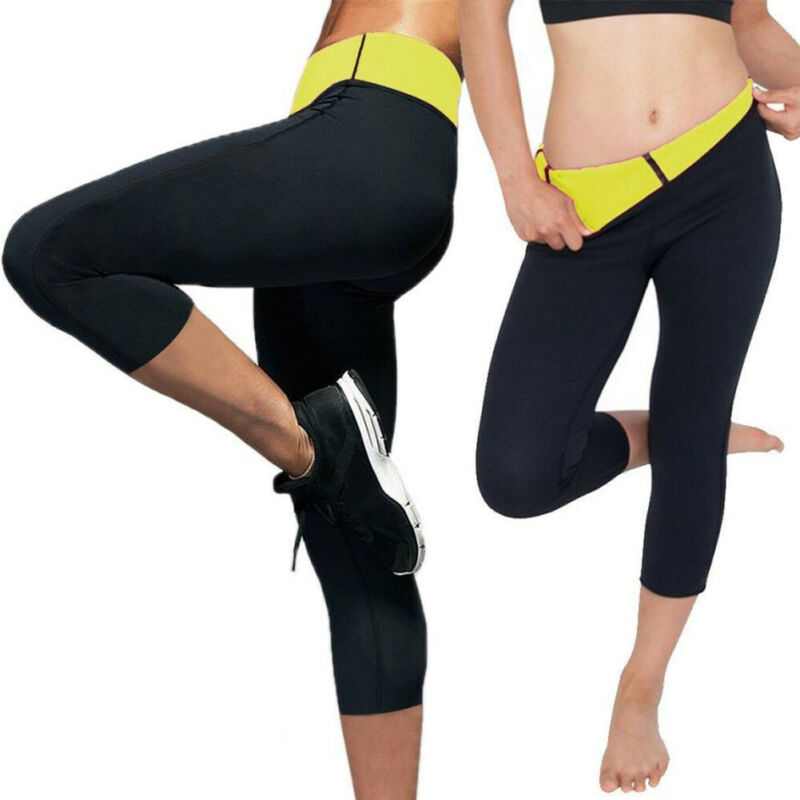 Fashion Short Slimming Leggings 2020 Sports Running Gym Short Leggings Weight Loss Hot Thermo Sweat Sauna Body Shapers
