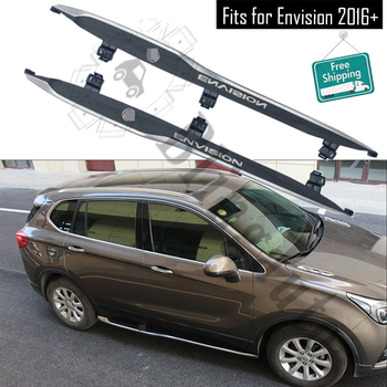 Fits for Buick Envision 2016+ 2Pcs left right running board side steps nerf bar car pedal side stairs