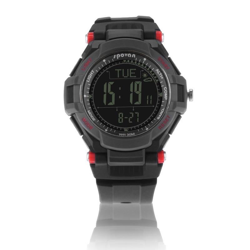 Spovan Sharp II Multifunctional Outdoor Sports Mountaineering Watch Metronome Compass Altitude Watch