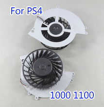 10pcs Original used internal cooling fan for Playstation 4 console PS4 CUH 1001A 1000 1100 500GB Replacement Part KSB0912HE