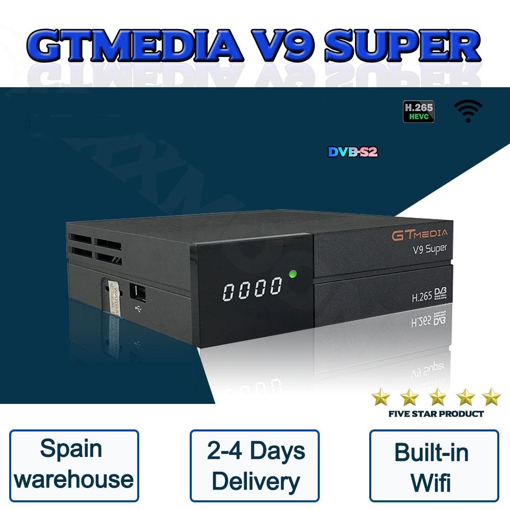 1080P GTmedia V9 Super DVB-S2 Gleiche wie Gtmedia V8 nova Gebaut in wifi H.265 Volle HD Keine app