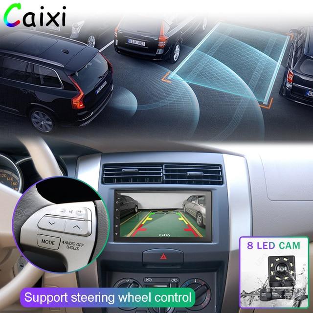 2 Din Android 9.0Car Radio odtwarzacz multimedialny dla Nissan Volkswagen TOYOTA Honda KIA Hyundai mazda uniwersalna auto Stereo GPS mapa