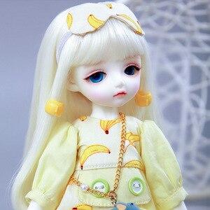 Image 4 - LCC Chloe BJD SD Pop 1/6 Body Hoge Kwaliteit Hars Speelgoed Gratis Eye Ballen Fashion Christmas Gift
