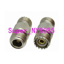 цена на N female jack to UHF SO239 SO-239 female jack RF coaxial adapter connector