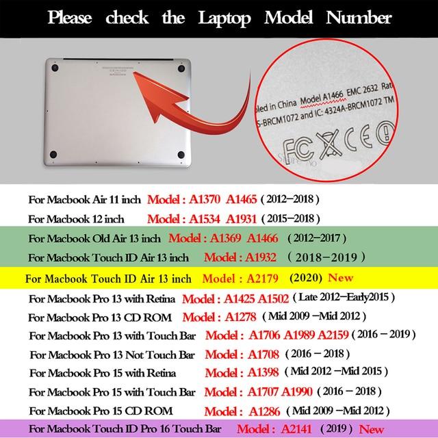 Torba pokrowiec na laptopa do Huawei Matebook Shell do Macbook Air Pro 13 Retina 11 12 16 15 A2179 2020 do pokrowca na notebooka XiaoMi