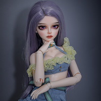Limited Doll bjd Cai 1/4 Ball Jointed Energetic idol Girl Double Joints dolls msd kpop toys for kids